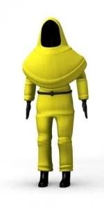 Man in protective suit © 3drenderings | Dreamstime.com