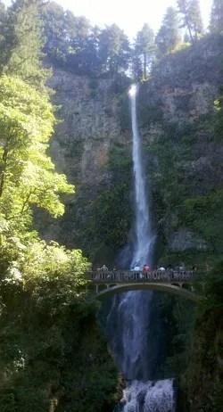 Multnomah Falls © Paul H. Byerly