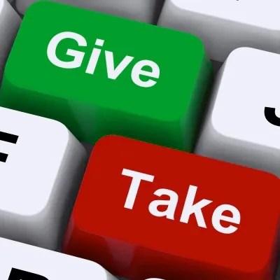 Give and Take © Stuart Miles   freedigitalphotos.net