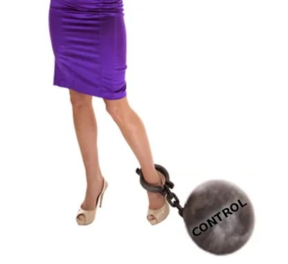 Ball and chain of control © Alanpoulson | Dreamstime.com