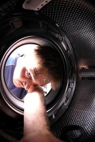 Man in washing machine © Jiri Vaclavek | Dreamstime.com