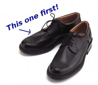 Right shoe first! © Suat Eman | freedigitalphotos.net