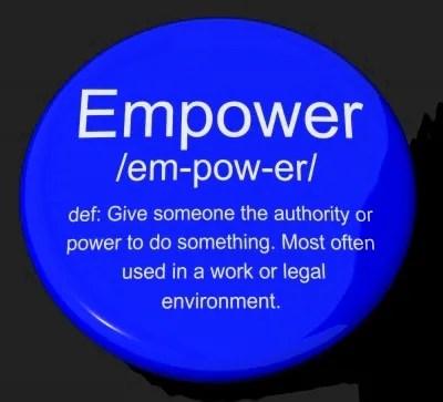 Empowered Button © Stuart Miles | freedigitalphotos.net