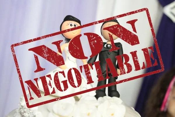 Non-Negotiable's