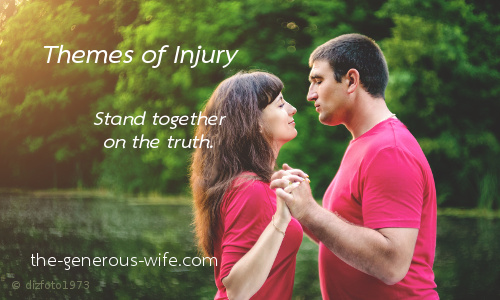 Themes of Injury - Stand together on the truth.