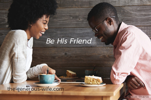 Be His Friend