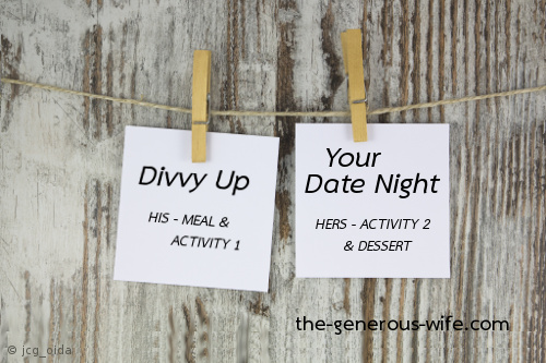 Divvy Up Your Date Night - Split the choices, double your fun.