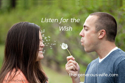 Listen for the Wish - What does he talk about? What does he wish for?