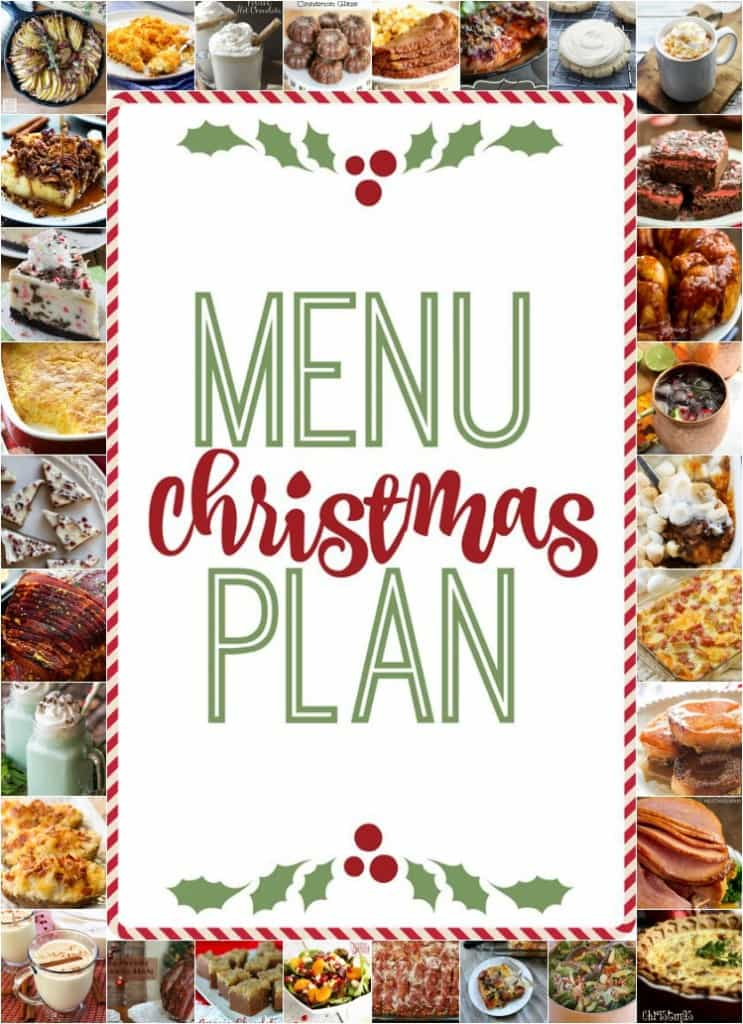 The Ultimate Christmas Menu Plan