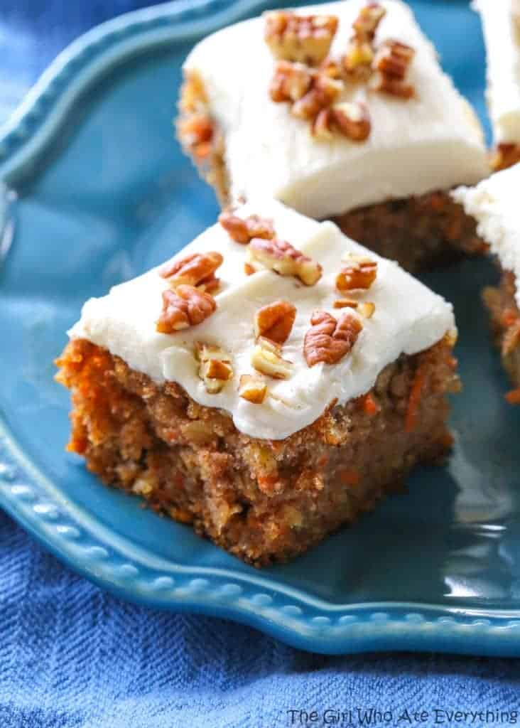 Moist Carrot Cake The Girl Who Ate Everything