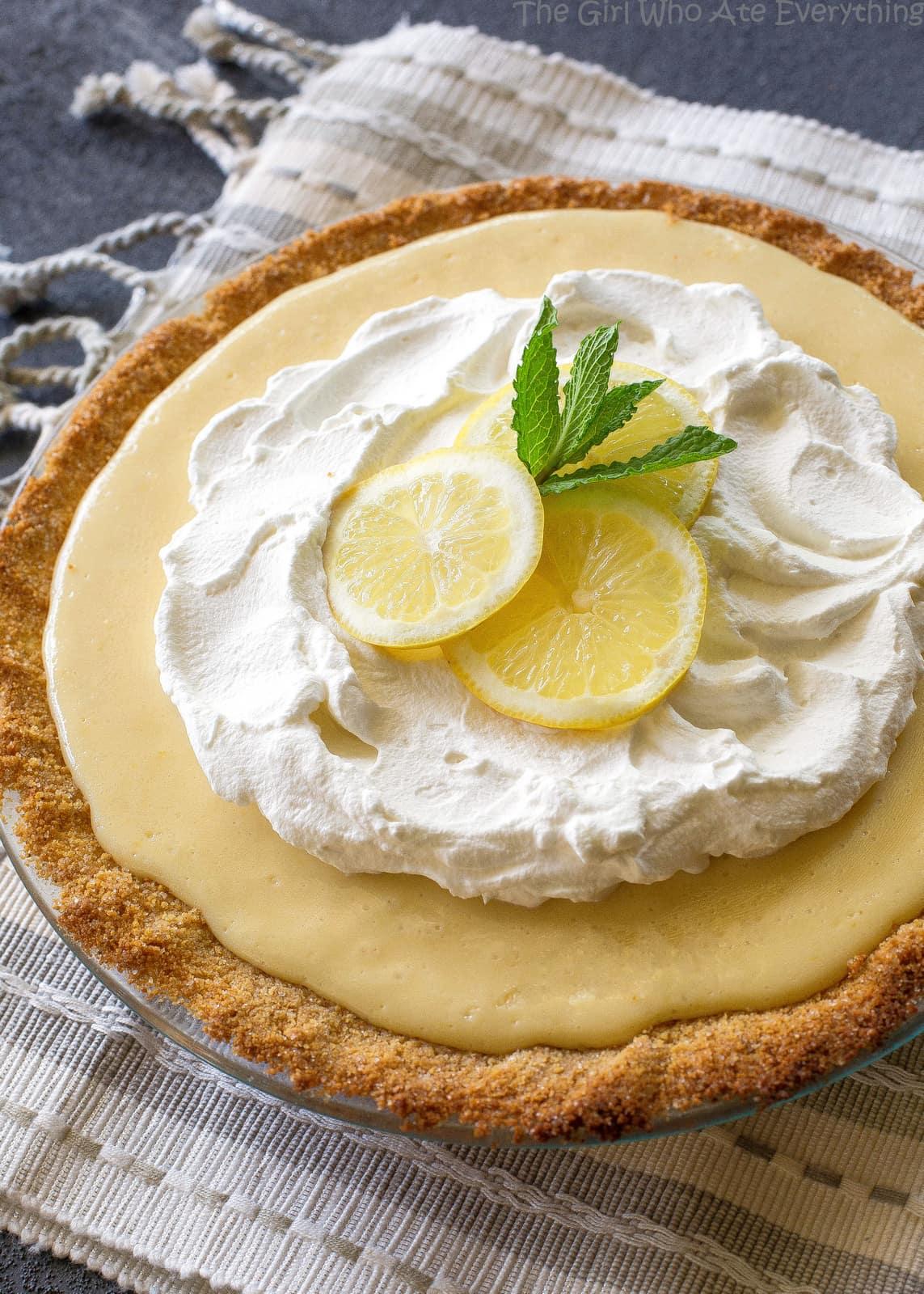 Lemon Pie - The Girl Who Ate Everything
