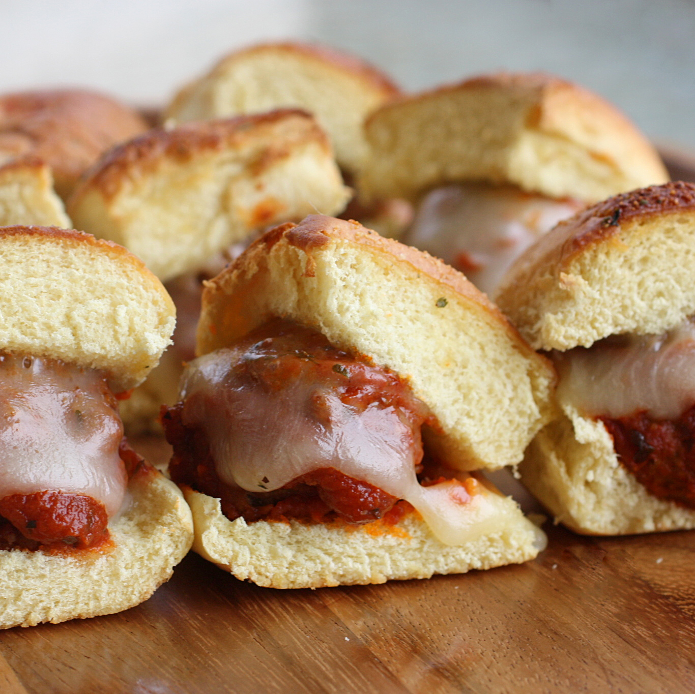 Meatball Sliders Super Bowl Food  The Girl Who Ate