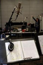Dresdner Gospel Chor während Aufnahmen zu CD How I Got Over