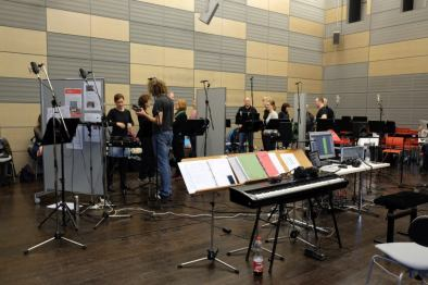 Dresdner Gospel Chor bei den Aufnahmen zur CD How I Got Over