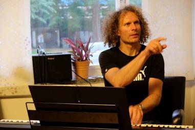 Markus Schurz in der Probe