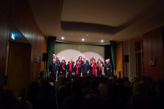Dresdner Gospel Chor The Gospel Passengers im Lingnerschloss