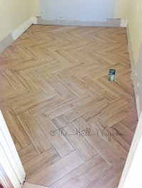 How To Lay Out A Herringbone Tile Pattern - Tile Designs