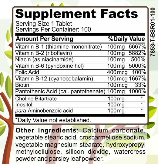 image of Herbal Forest super b-complex 100 ingredients