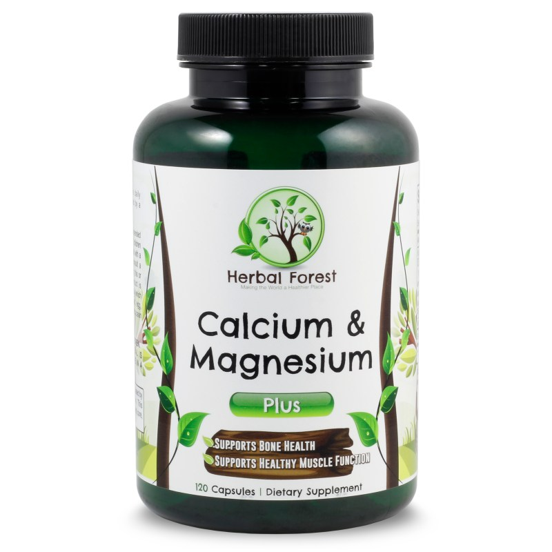 image of Herbal Forest calcium & magnesium plus