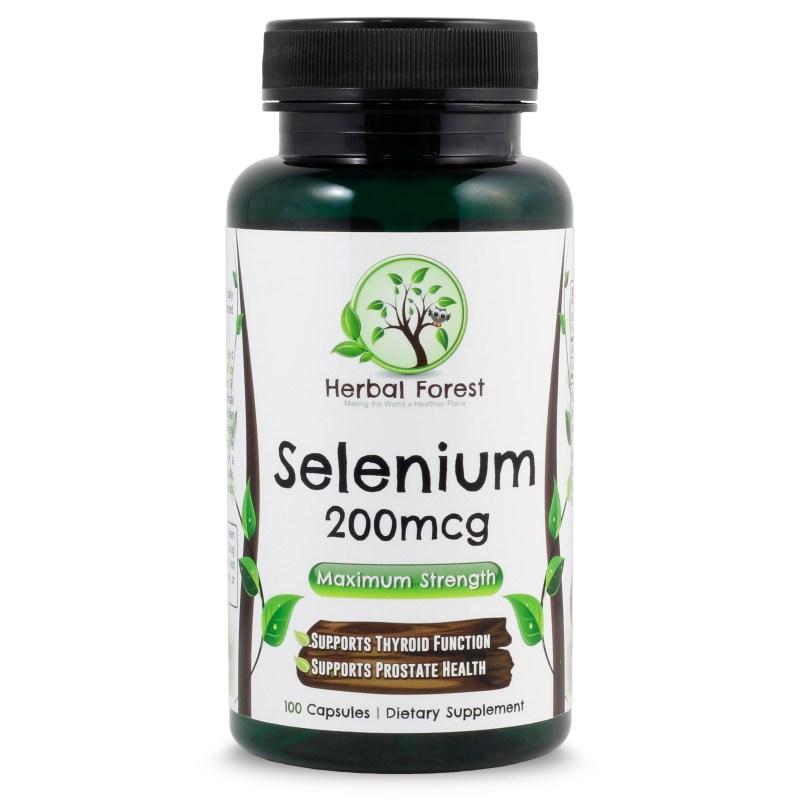 image of Herbal Forest selenium 200mcg