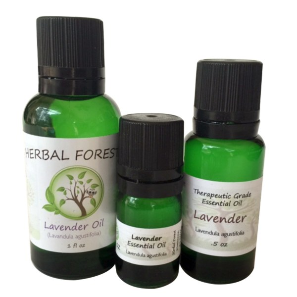 image of Herbal Forest lavender essential oil