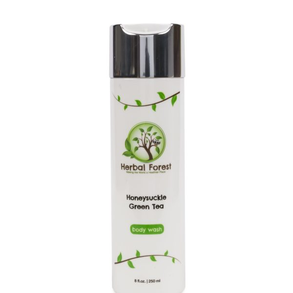 honeysuckle green tea body wash