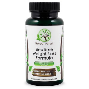 image of herbal forest bedtime weight loss formula