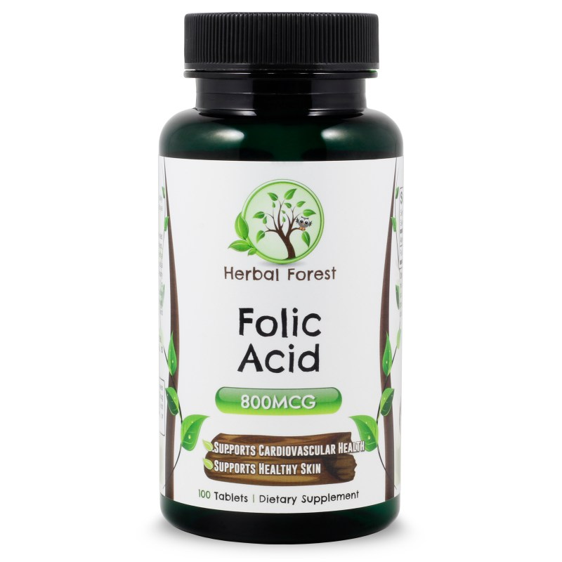 image of herbal forest folic acid
