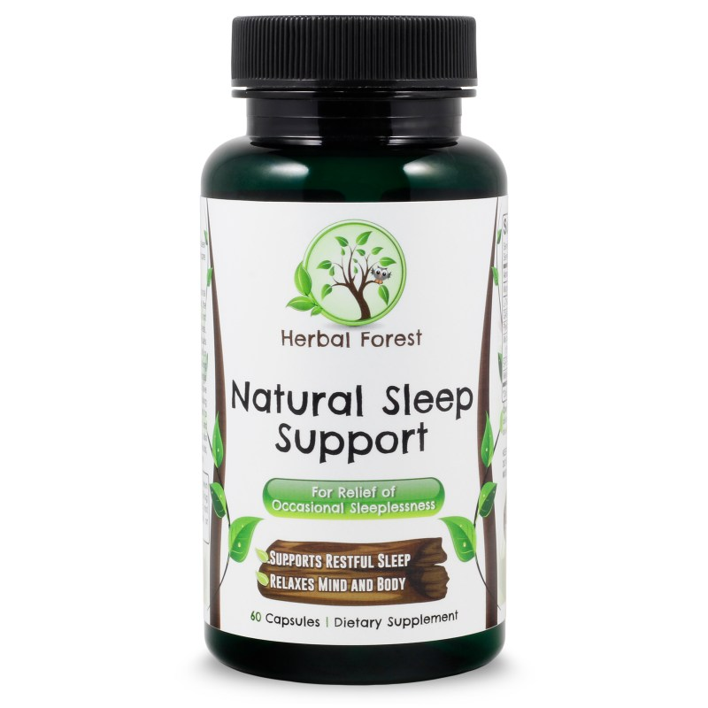 image of herbal forest natural sleep support
