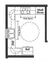 Universal Design Modular Home Plans for Kitchens & Bathrooms