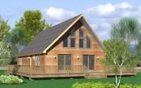 Modular Home: Modular Home Chalet Plans