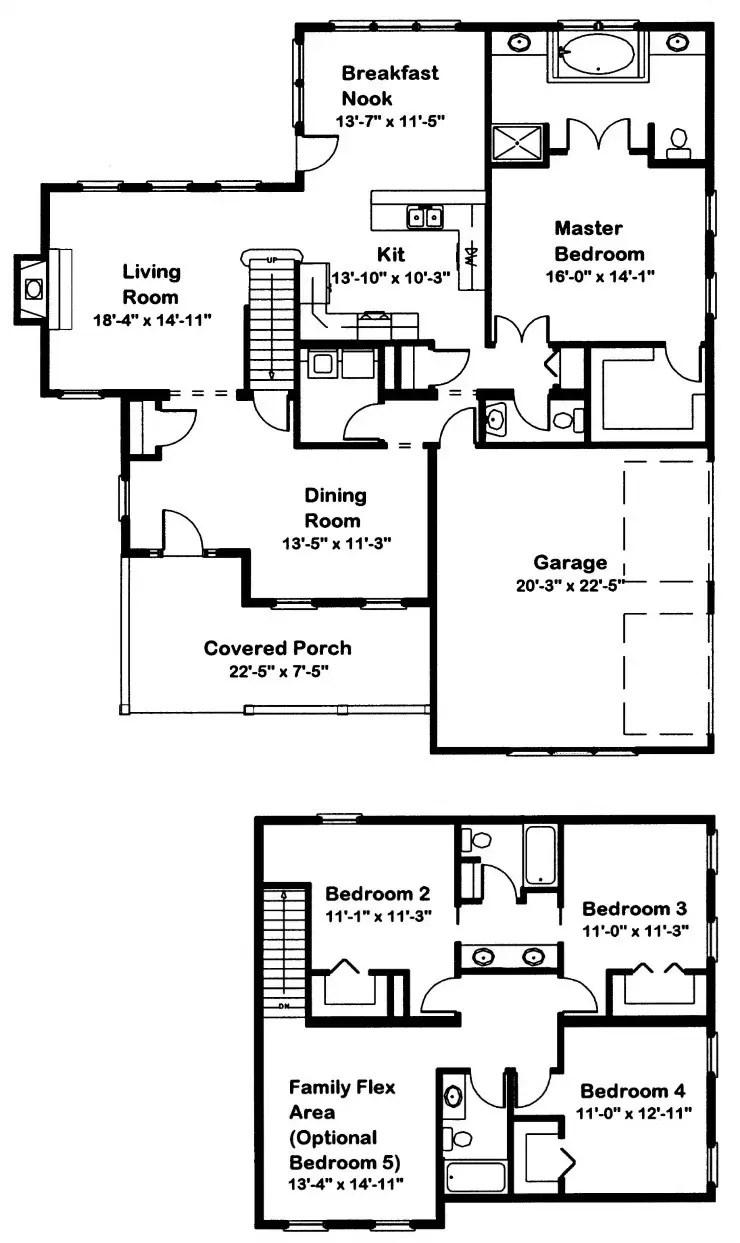 Anchor Mill Modular Home Floor Plan