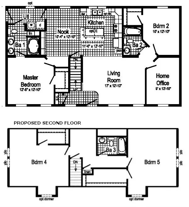 Kensington Modular Home Floor Plan