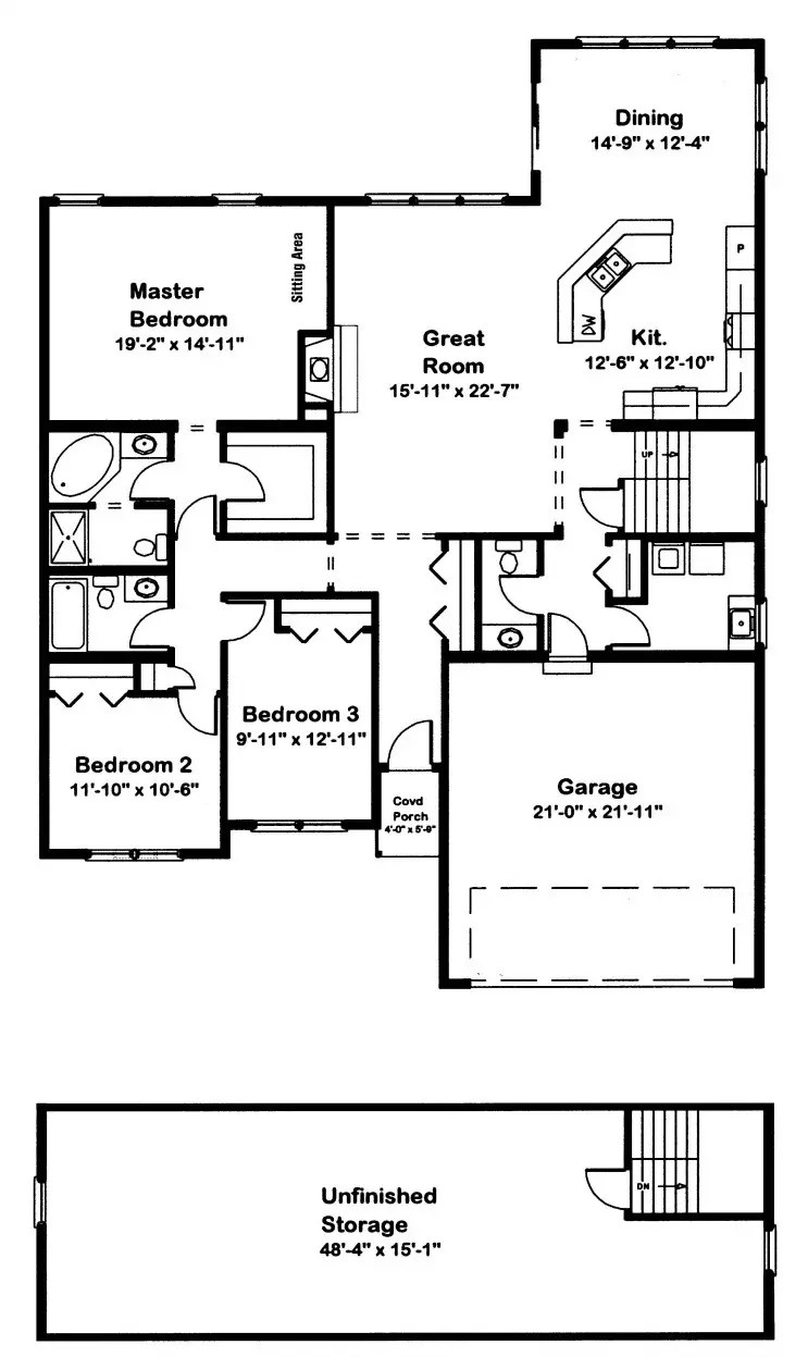 Wildewood Modular Home Floor Plan
