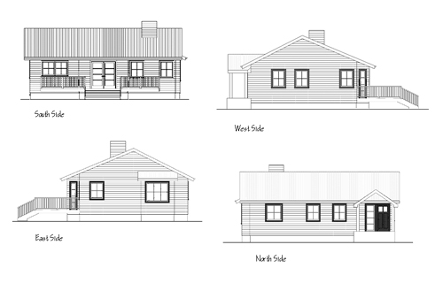 Show Elevation Drawings