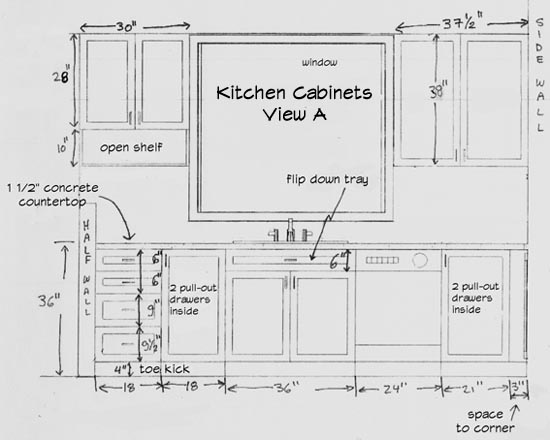 kitchen cabinets plans exhaust design your own