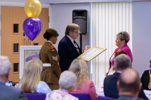 Ashmore Park Community Association - Queen's Award for Voluntary Service Presentation