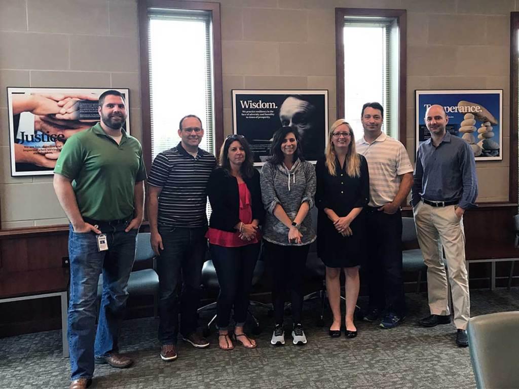 innovation blue belt workshop participants