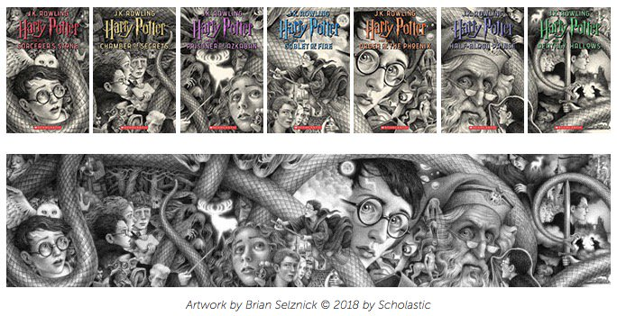 Image result for harry potter new covers