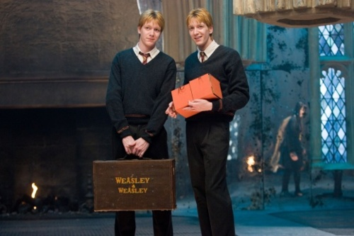 Image result for fred and george