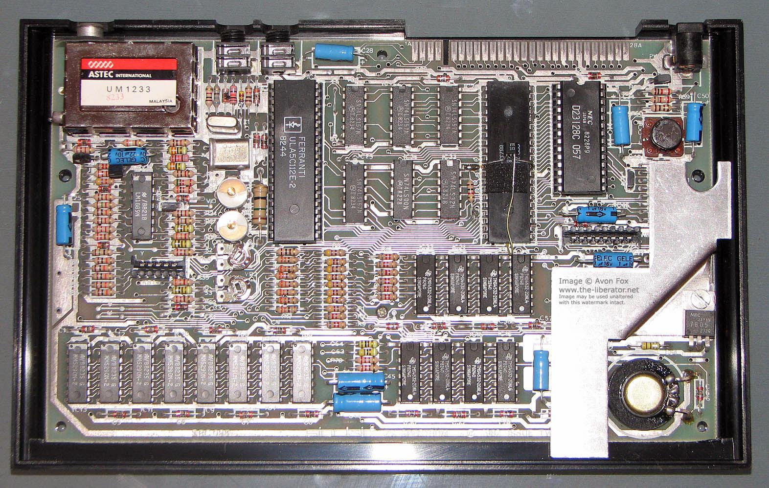 Sound Wiring Schematic Sinclair Zx Spectrum Issue 2 Computer
