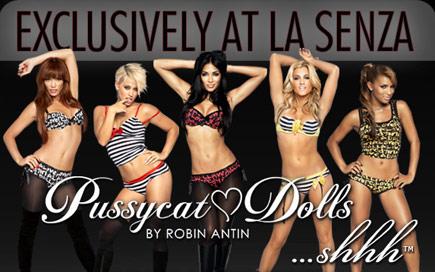 pussycat dolls lingerie LA SENZA
