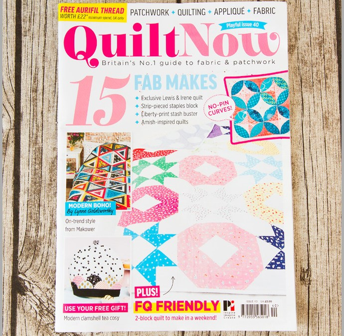 Quilt Now Issue 40