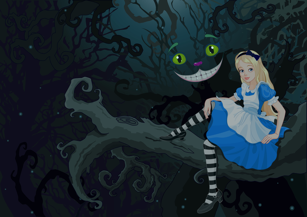 Falling Down The Rabbit Hole Wallpaper More Interesting Characters Of Alice In Wonderland The