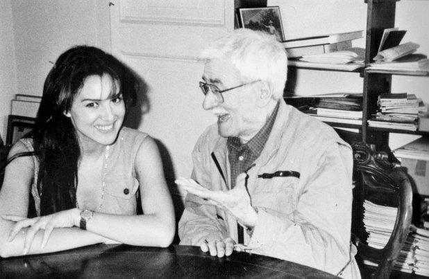 Monica Bellucci e Alberto Burri
