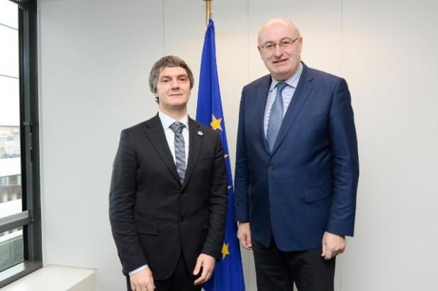 Matteo Bartolini e il commissario Hogan