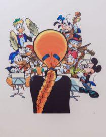 Giorgio Cavazzano- Mina e la banda Disney