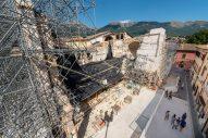La basilica di San Benedetto distrutta dal terremoto