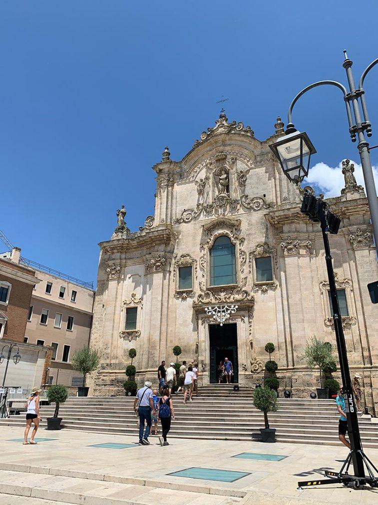 la cattedrale La cattedrale della Madonna della Bruna e di Sant'Eustachio a Matera