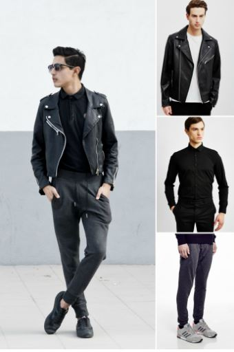 joggers-and-biker-jackets